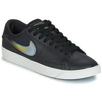 鞋子 女士 球鞋基本款 Nike 耐克 BLAZER LOW LX W 黑色 / 银色